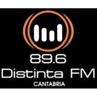 Logo de la radio Distinta FM