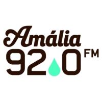 Logo of radio station Rádio Amália
