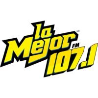 Logo of radio station XHHTY La Mejor 107.1 FM