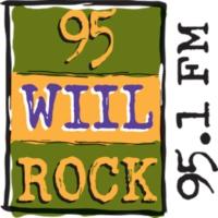 Logo de la radio 95 WIIL ROCK