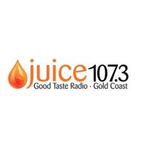 Logo of radio station Juice 107.3