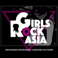 Logo de la radio Girls Rock Asia Radio