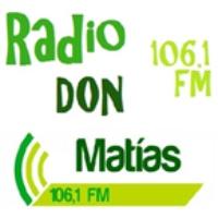 Logo de la radio Don Matias 106.1 FM