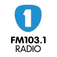 Logo of radio station La UNO 103.1