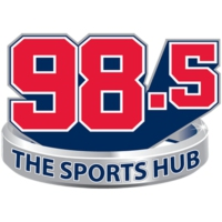 Logo of radio station WBZ-FM 98.5 The Sports Hub