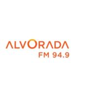 Logo of radio station Alvorada FM 94.9