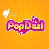Logo of radio station SBS PopDesi