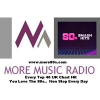 Logo de la radio more80s