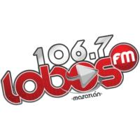 Logo de la radio Lobos FM Mazatlán 106.7 FM