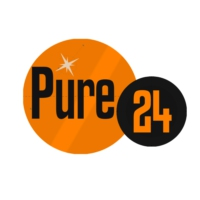 Logo of radio station Pure 24
