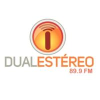 Logo of radio station Dual Estéreo 89.9