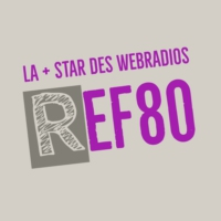 Logo of radio station REF80