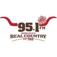 Logo de la radio KGU 95.1 FM AM 760