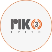 Logo of radio station Τρίτο Πρόγραμμα ΡΙΚ
