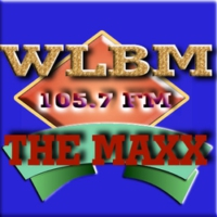 Logo of radio station WLBM Maxx 105.7