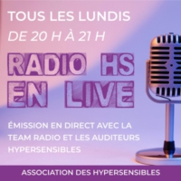 Logo of radio station Radio HS