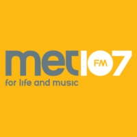 Logo of radio station MET107