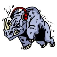 Logo de la radio Rhino Radio