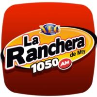 Logo of radio station XEG-AM La Ranchera de Monterrey 1050