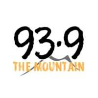 Logo of radio station KMGN 93-9 The Mountain
