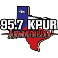Logo of radio station 95.7 KPUR