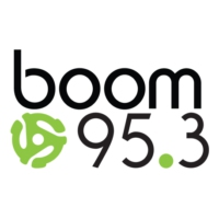 Logo of radio station CJXK-FM boom 95.3 FM