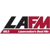 Logo of radio station LAFM 89.3
