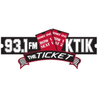 Logo of radio station KTIK The Ticket 93.1