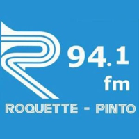 Logo of radio station Rádio Roquette Pinto