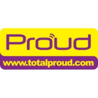 Logo of radio station Proud