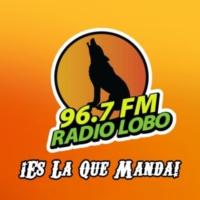 Logo of radio station XHY-FM Radio Lobo 96.7