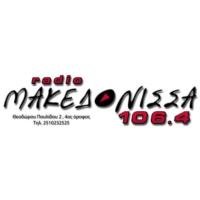 Logo of radio station Rádio Makedónissa 106,4 - Ράδιο Μακεδόνισσα 106,4