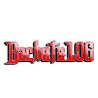 Logo of radio station Bachata 106 radio