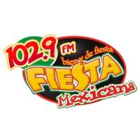 Logo of radio station XHNC Fiesta Mexicana 102.9 FM