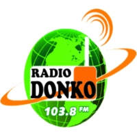 Logo of radio station Radio Donko
