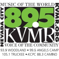 Logo of radio station KVMR 89.5FM