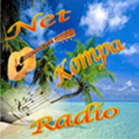 Logo of radio station Net Kompa Radio