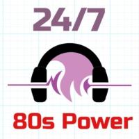 Logo of radio station 24/7 - 80s Power