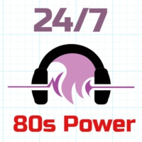 Logo of radio station 24/7 - 80s Power