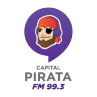 Logo de la radio XHCQR Pirata FM 99.3