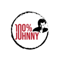 Logo of radio station 100% Johnny