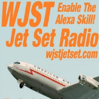Logo of radio station WJST Jet Set