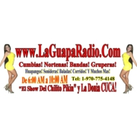 Logo of radio station KSIK-LP La Guapa Radio 95.3 FM