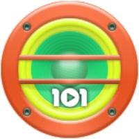 Logo de la radio 101.ru - Русское Регги