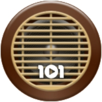 Logo of radio station 101.ru - Swing