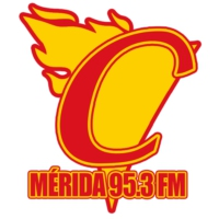 Logo of radio station XHMH Candela Mérida 95.3 FM