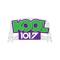 Logo of radio station KLDJ Kool 101.7