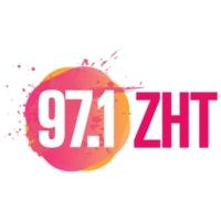 Logo of radio station KZHT 97.1 ZHT