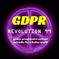 Logo de la radio GDPR- Revolution 99