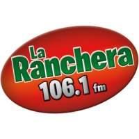 Logo of radio station XHLTZ La Ranchera 106.1 FM